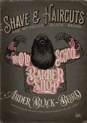 00 OLD SCHOOL BARBER SHOP